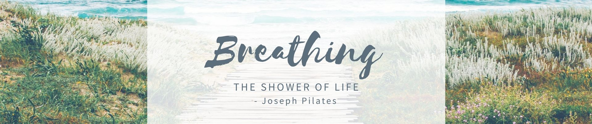 Breathing - the Shower of Life (30 minutes read)